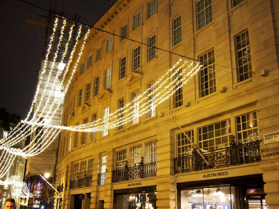 Iluminaciones Navidad Londres 2015