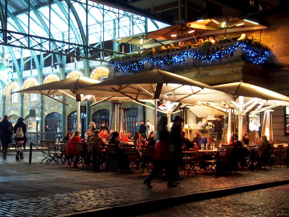 Ruta iluminación Navidad Londres covent garden
