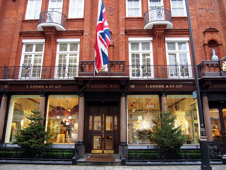11 puntos ideales de Mayfair Goode St & Co