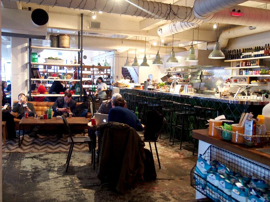 Barber & Parlour en Shoreditch café