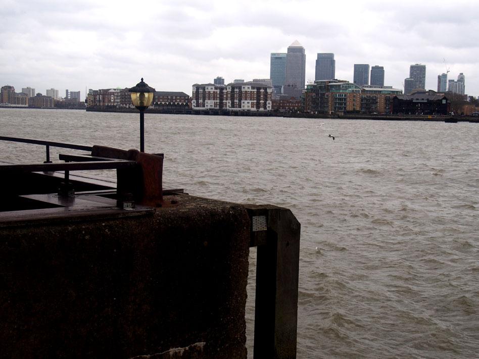 Annie Leibovitz en Londres wapping Támesis