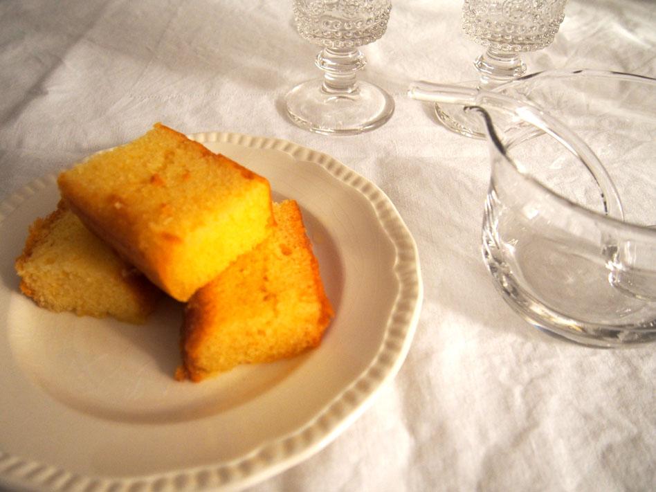 Trifle postre inglés Bizcocho