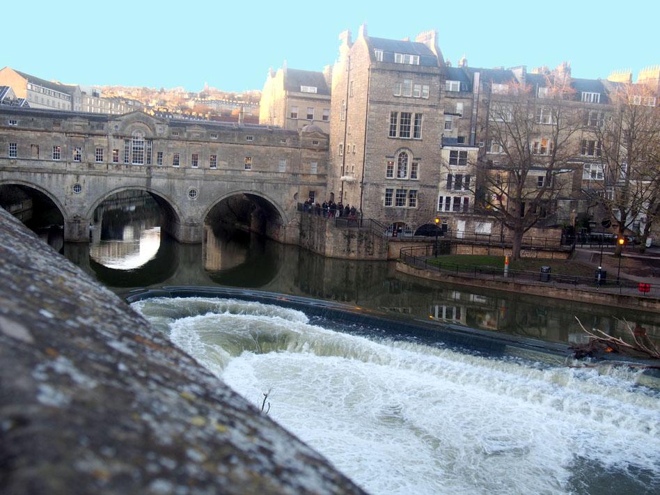 qué ver en Bath pulteney bridge