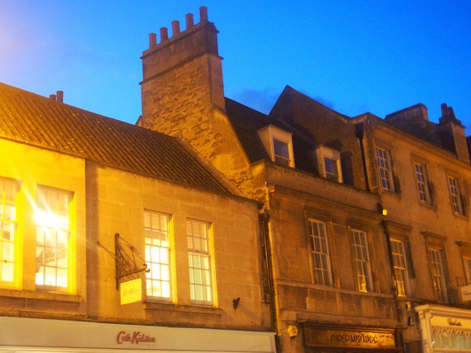qué ver en Bath de noche