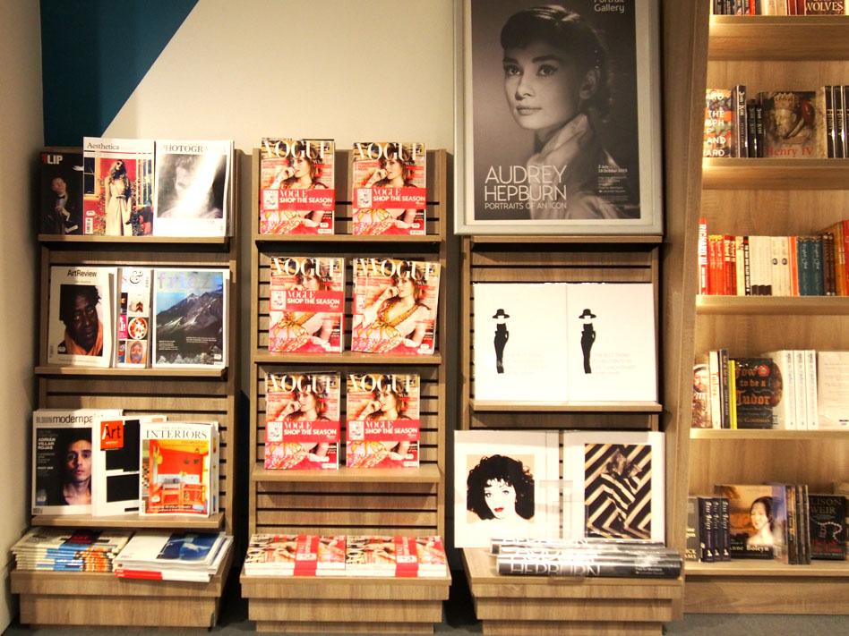 NAtional Portrait Gallery tienda