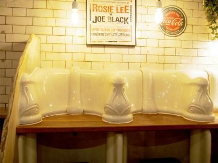 El bar de los baños públicos de londres