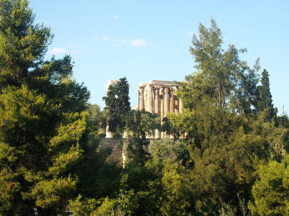 Paseo por el centro de Atenas vistas desde el hotel