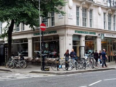 El bar de los baños públicos de Londres starbucks