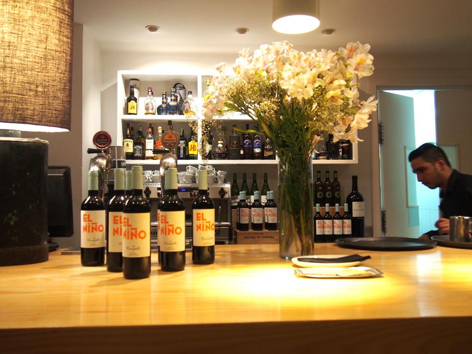 beef place restaurante con jardín en Madrid flores