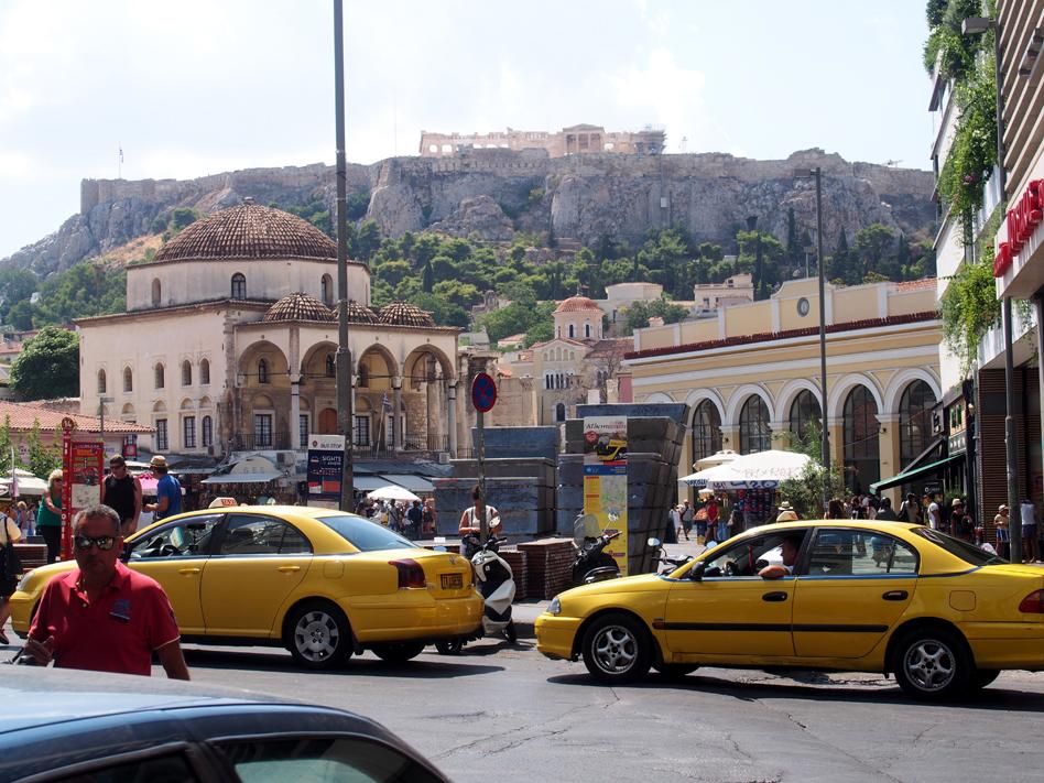 Mercado Central de Atenas Plaza de Monastiraki