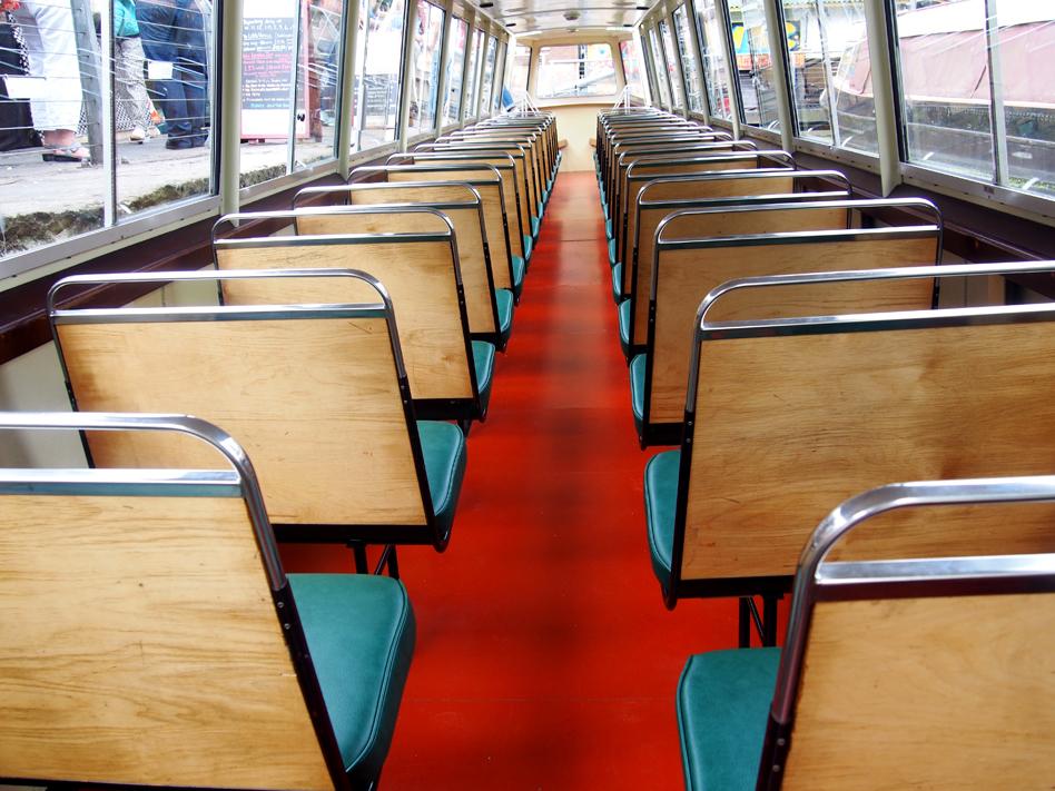De little venice a camden town en barco asientos