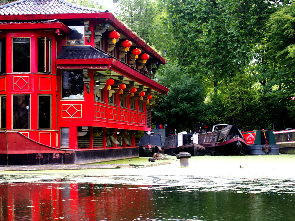 De little venice a maida vale en barco pagoda china