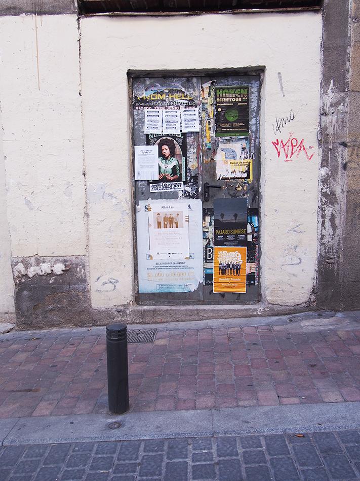 Barrio de las letras Bar calle moratín