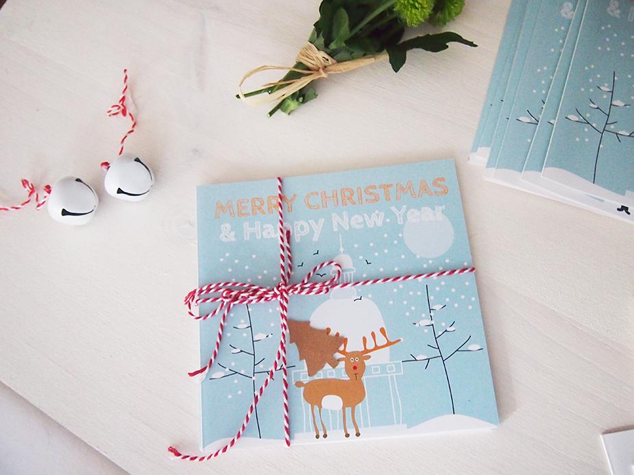 Christmas por Navidad dibujo reno