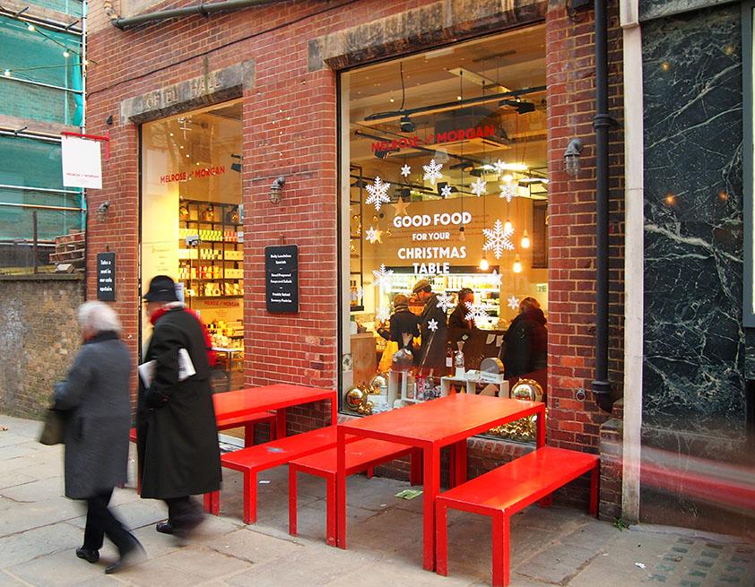 Hampstead en Navidad Melrose-and-Morgan