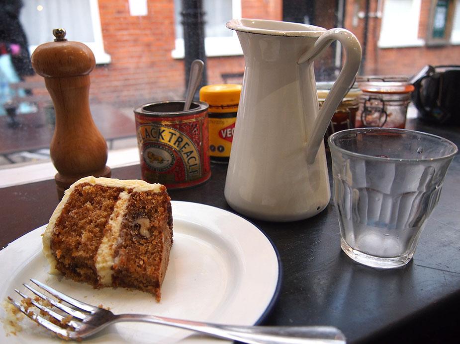 Hampstead en Navidad ginger-and-white-tarta