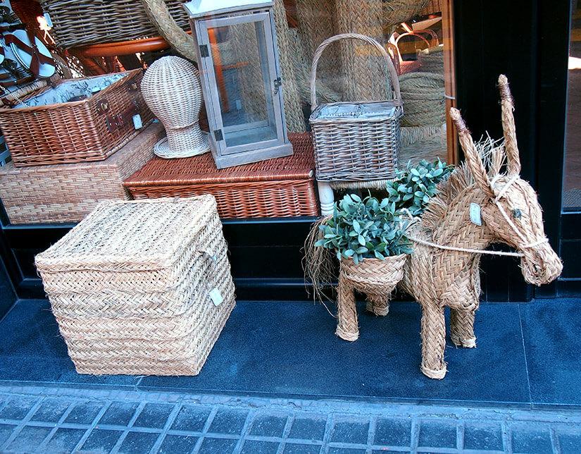 Barrio de las salesas de madrid cestería sagóna