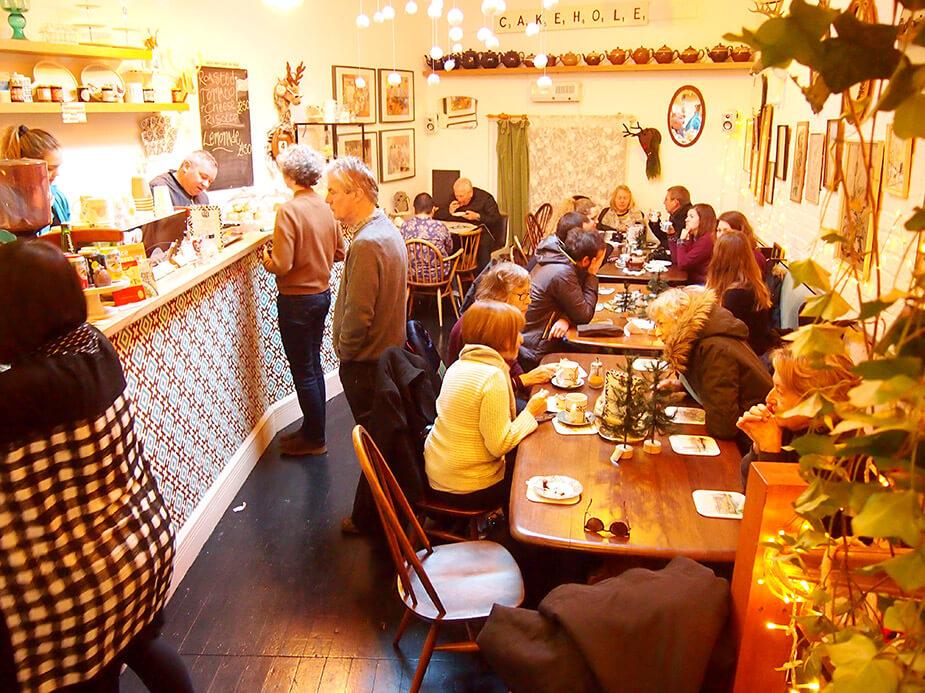 Tiendas de Columbia Road Vintage Heaven café