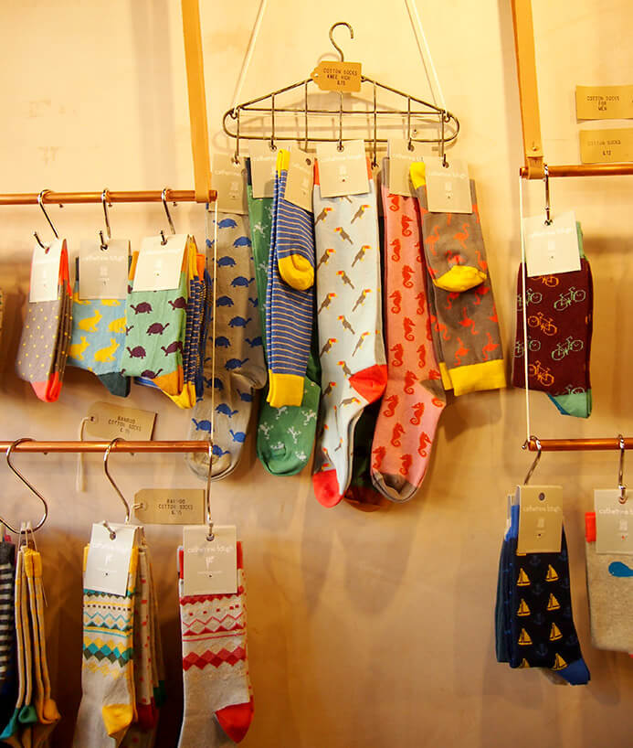 Tiendas de Columbia Road Peponita and friends calcetines
