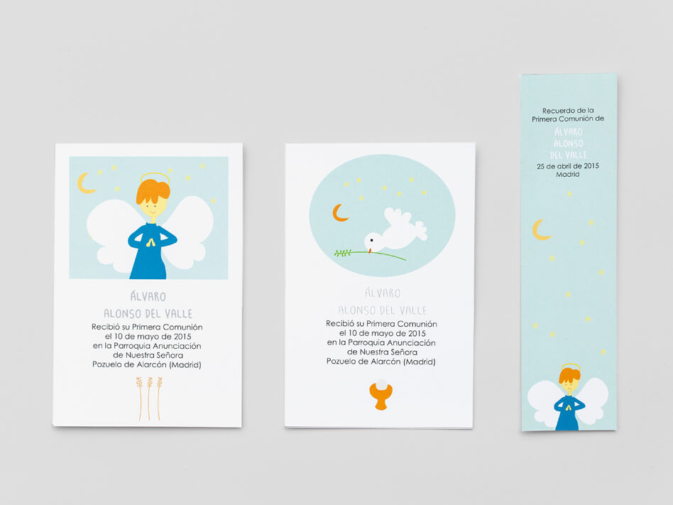Marcapáginas-Primera-Comunión ilustraciones