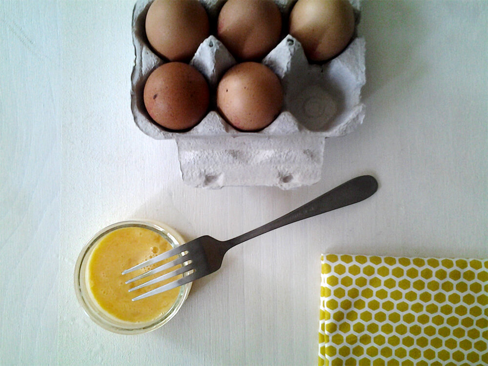 Huevo batido