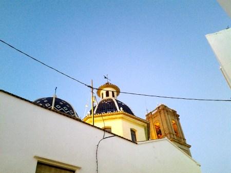 Altea iglesia