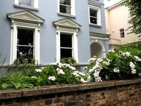 Casas de Primrose hill casa azul