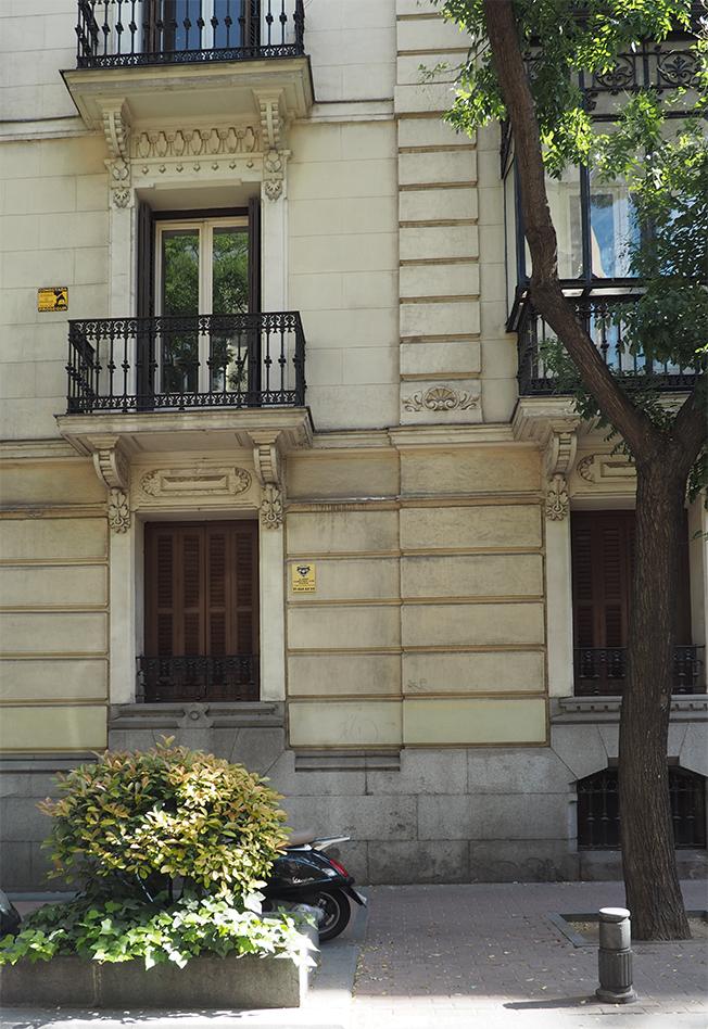 Casa barrio de Salamanca