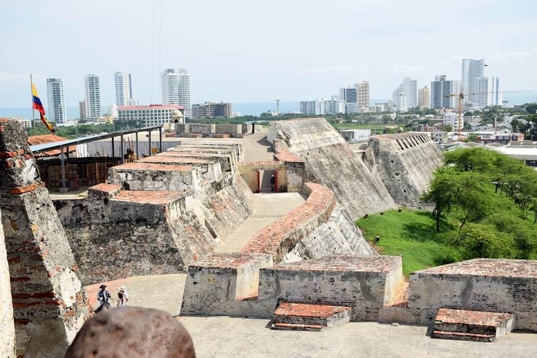 Castillo de San Felipe vista rascacielos