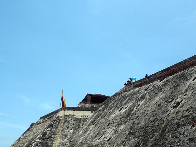 Castillo de San Felipe sombrilla