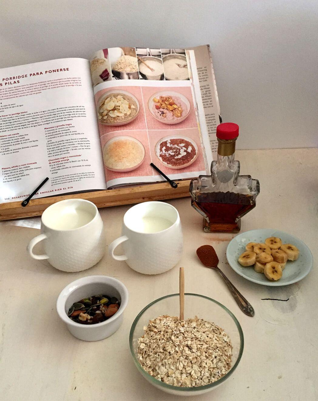 Porridge desayuno muy tipico en inglaterra ingredientes