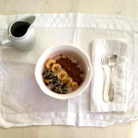 Porridge Desayuno tipico ingles