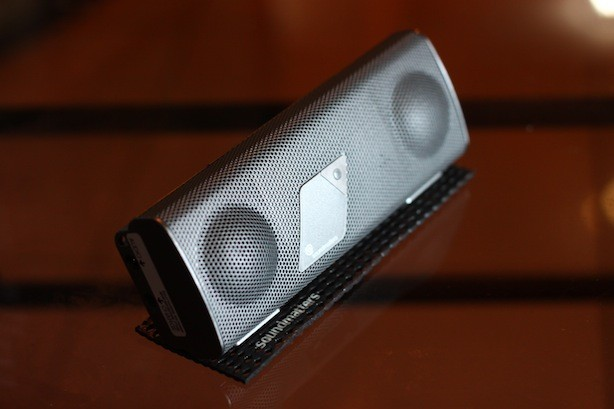 foxL Platinum Bluetooth Speakers Front with matt