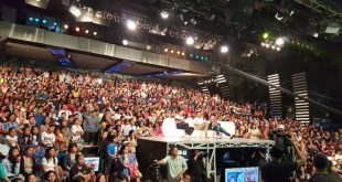 Crowd shot at broadway centrum during a live shooting of Eat Bulaga