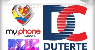 MyPhone Officially Endorses Rodrigo Duterte