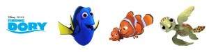 Finding Dory Free Printable Coloring Sheets