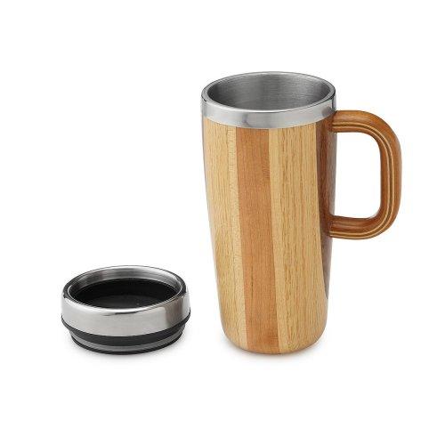 Joyous Wooden Travel Mug Thumbnail Wooden Travel Mug Coffee Wood Handmade Uncommongoods Travel Mugs No Handles