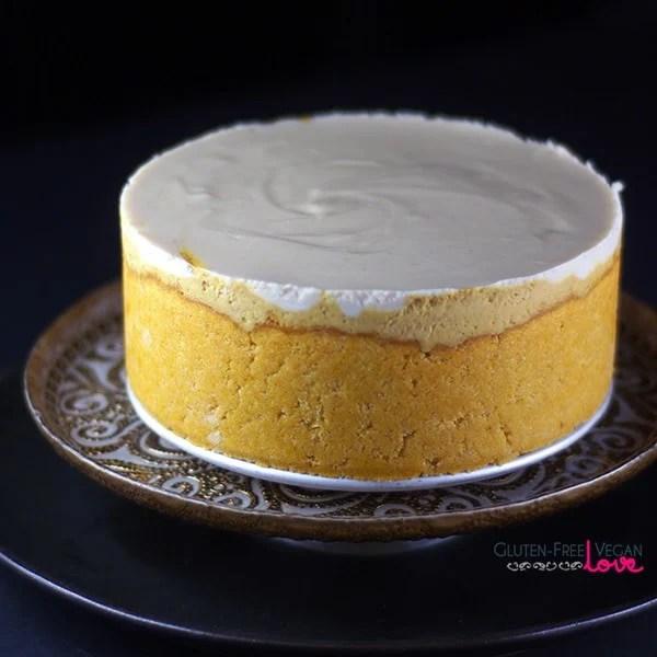 Paleo Persimmon Cheesecake