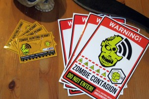 Lots of Zombie Stickers