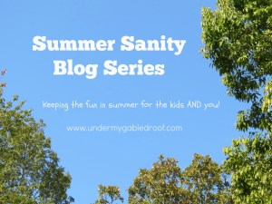 Introducing the Summer Sanity Blog Series