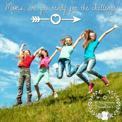 Summer is here!  How do you plan on enjoying the here and now with your kids?  Come check out our #ETHANproject for Summer 2015!  We've got weekly challenges set aside for you to find time to savor the summer with your kids.