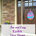 Perfect and Easy DIY Easter Door Hanger-March LWS Hop