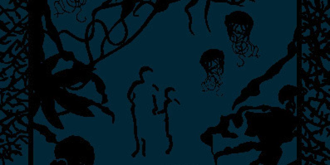 Maurice Mourier par une forêt obscure couverture