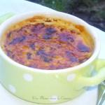 Crème brûlée au coco