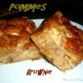 Brownie pommes apple brownie