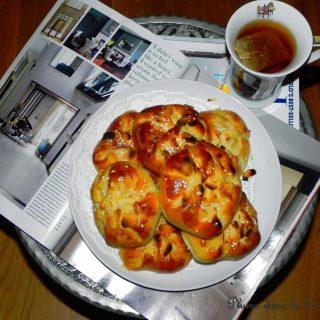 Petits pains aux nectarines, tendrement bons…
