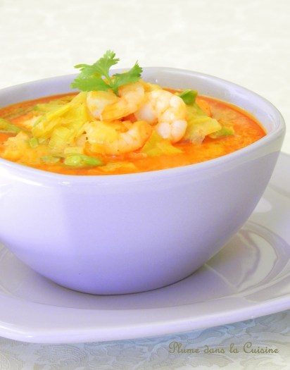 soupe épicée crevette (2)