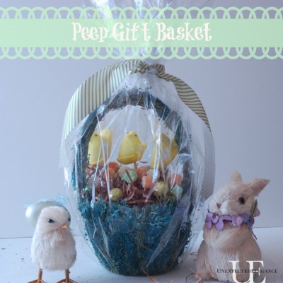 Peep Pop Gift Basket