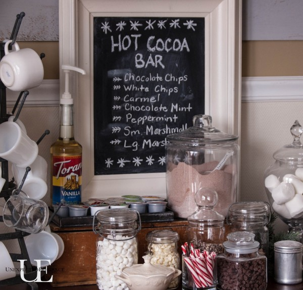 Creating a cozy home hot cocoa bar unexpected elegance for Creating a cozy home
