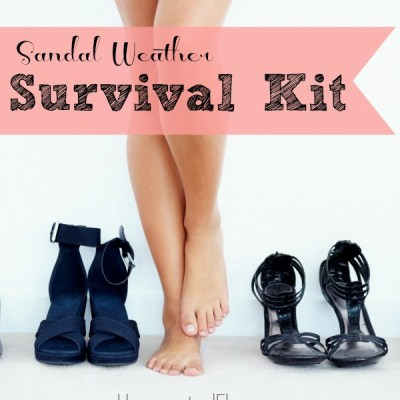 Sandal Weather Survival Kit for Your Purse